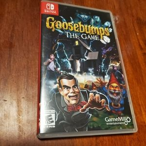 Goosebumps Switch Game